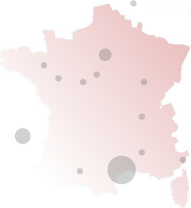 Carte des laboratoires ADALEP