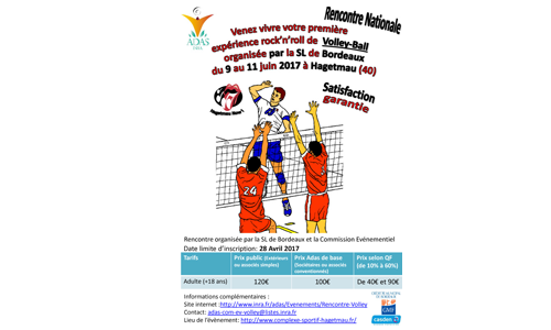 Rencontre Volley