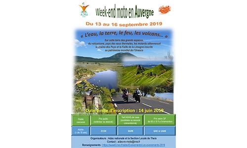 WE Moto en Auvergne