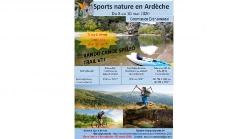 Sports en Ardèche