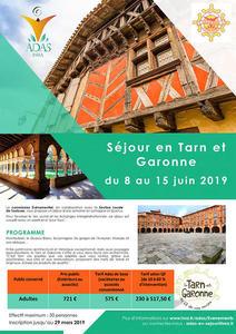image Tarn et Garonne séjour