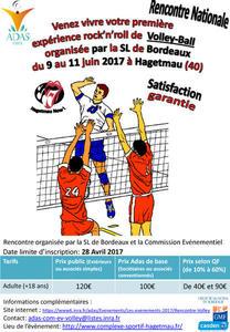 affiche volley 2017