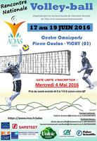 Affiche Volley 2016