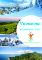 Catalogue vacances hiver 2019-2020