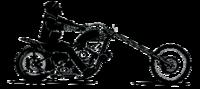 silhouette moto