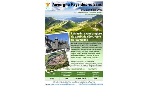 Auvergne - séjour