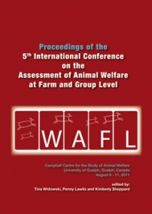 Proceedings of the Assessment of Animal Welfare at the Farm and Group Level
