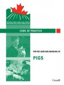 Canada: Code of Practice for the Care and Handling of Pigs released (NFACC)