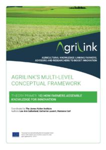 AgriLink conceptual framework. Theory Primers.10