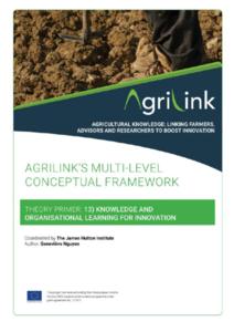 AgriLink conceptual framework. Theory Primers.13