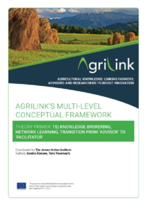 AgriLink conceptual framework. Theory Primers.15
