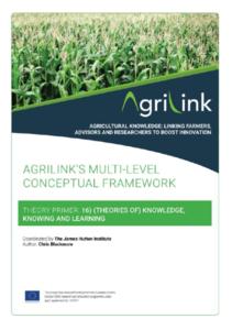 AgriLink conceptual framework. Theory Primers.16