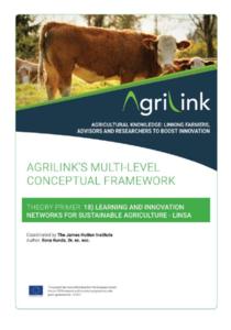 AgriLink conceptual framework. Theory Primers.18