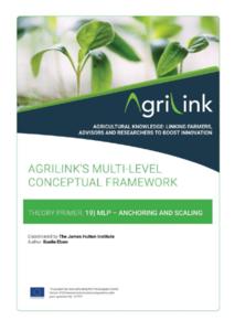 AgriLink conceptual framework. Theory Primers.19