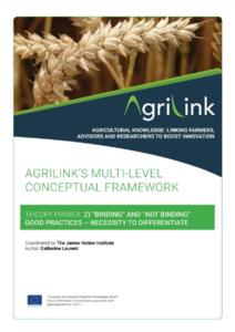 AgriLink conceptual framework. Theory Primers.2