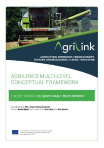 AgriLink conceptual framework. Theory Primers.25