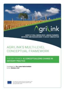 AgriLink conceptual framework. Theory Primers.4