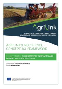 AgriLink conceptual framework. Theory Primers.7