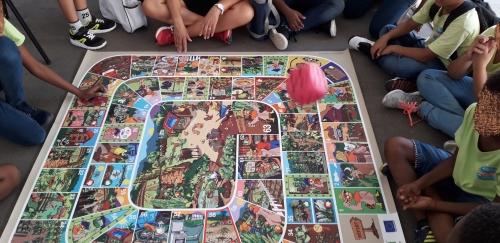 Le jeu de la Poul Genm, , s'amuser autour de la transition agroécologique en Guadeloupe