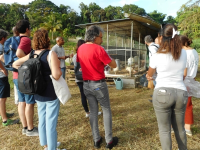 Visite et audition d'AgroEcoDiv