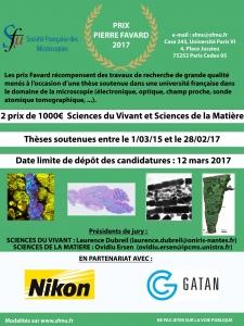 Congrès de la SFµ Bordeaux 4-7 juillet 2017