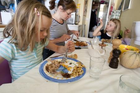 repas familial, photo INRAE