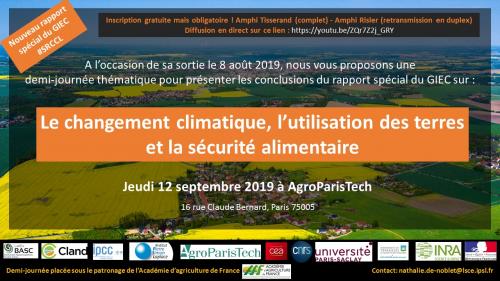September 12th 2019 IPCC