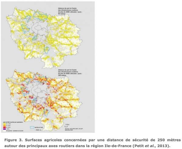 Les espaces périurbains : entre pollution des villes et pollution des champs aux échelles régionale et locale