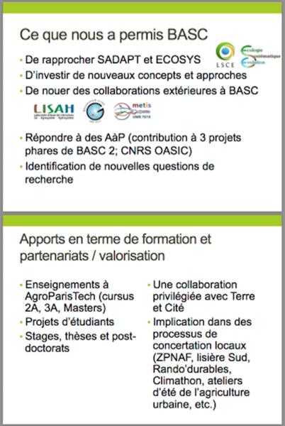 Slides présentation résultats projet phare 4