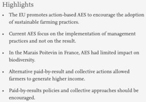 Highlights de la publi Public policy design: Assessing...-projet phare 3