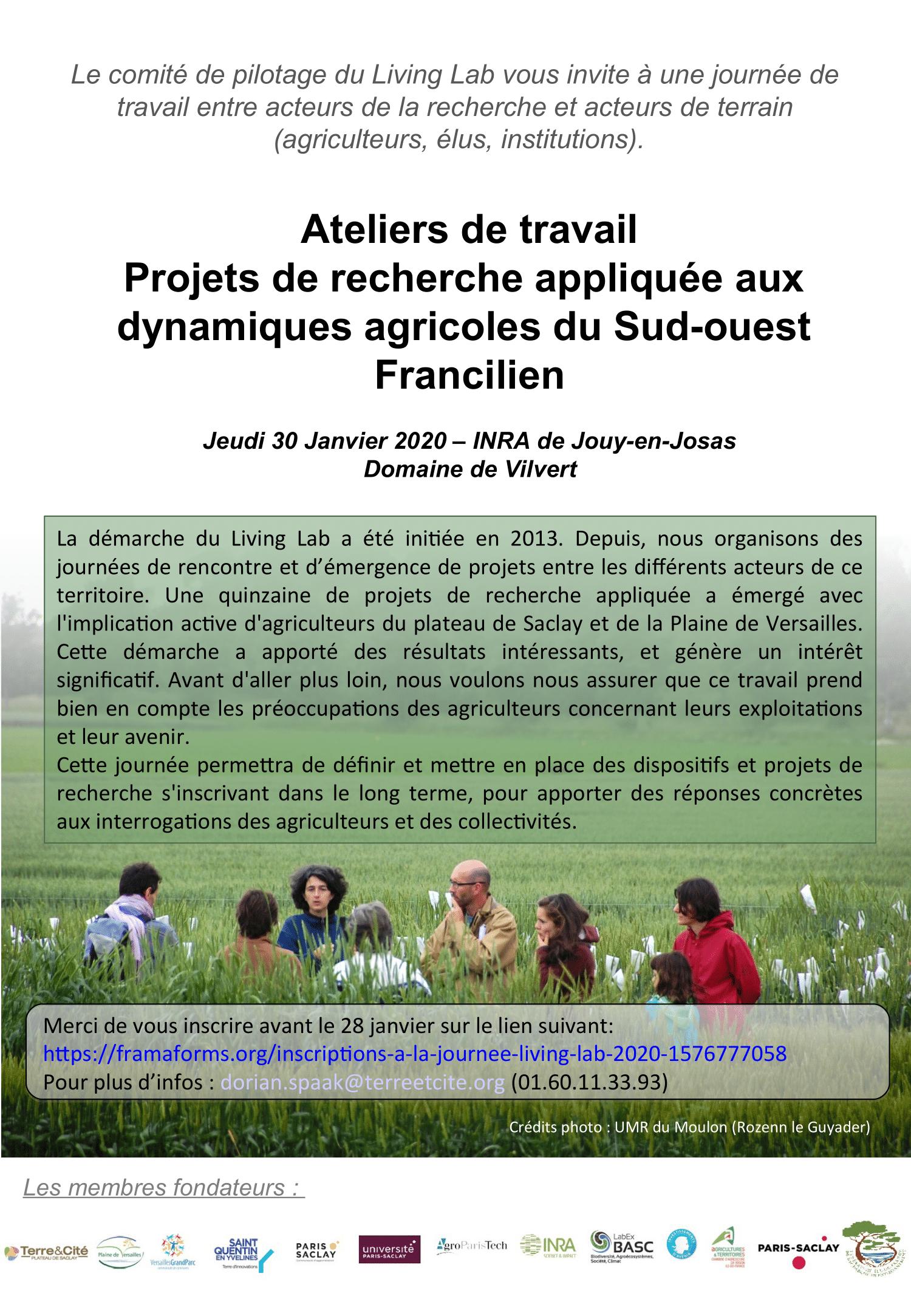 Invitation Journée Living Lab 30 janvier 2020 p1