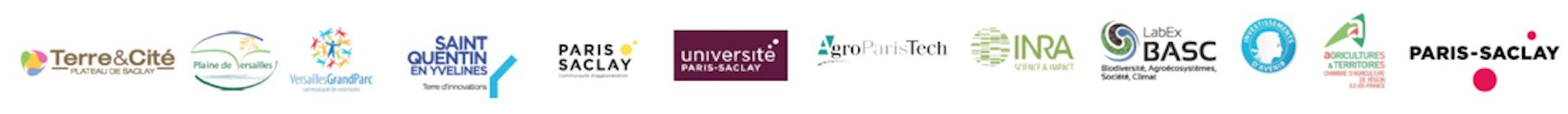 Logos partenaires Living Lab
