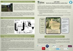 Fiche de présentation des projets BASC sur le Plateau de Saclay - Mars 2016