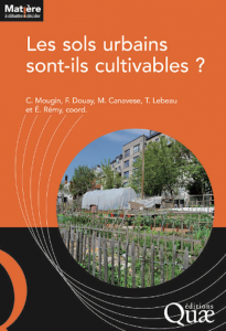 Ouvrage Sols urbains cultivables