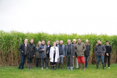 INRA AgroImpact a reçu France miscanthus