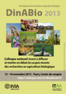 Appel à contributions : colloque DinABio 2013