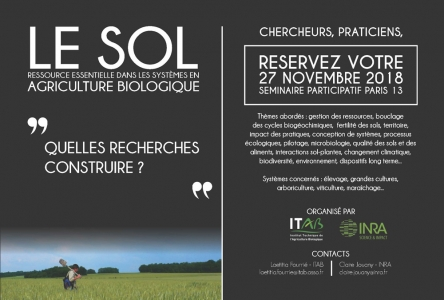 Save the date séminaire sol