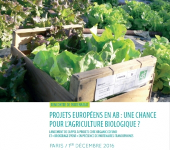 Colloque projets européens Core Organic Cofund