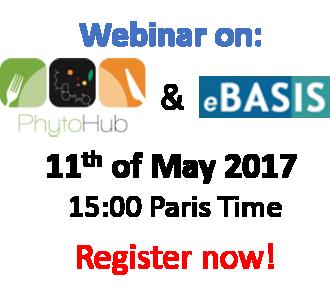 Webinar on eBASIS & PhytoHub