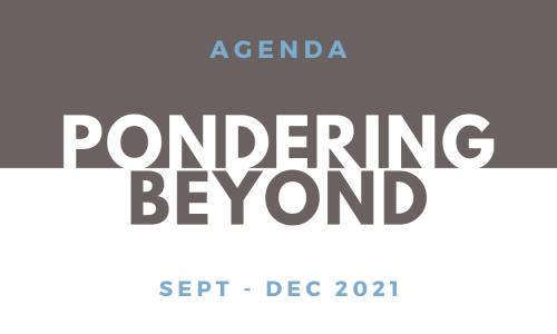 Pondering BEYOND webinar series