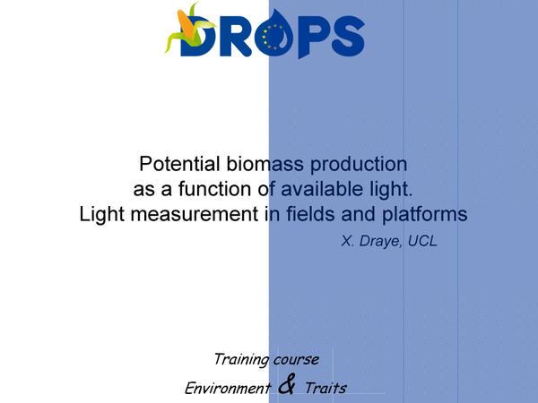 Potential biomass