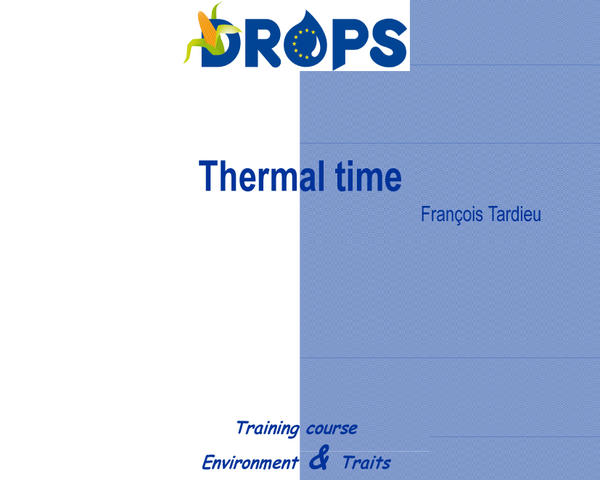 Thermal time
