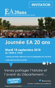 Participer à la journée EA 20 ans
