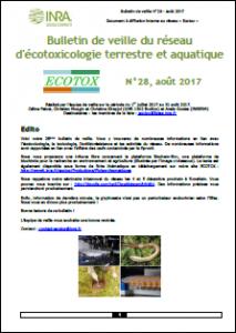 Bulletin 28 : Veille du 01/07/2017 au 31/08/2017