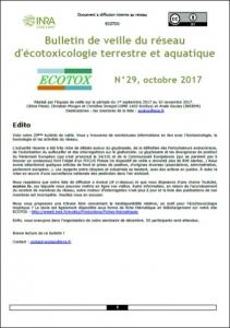 Bulletin 29 : Veille du 01/09/2017 au 10/11/2017