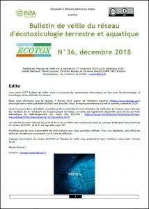 Bulletin 36 : Veille du 01/11/2018 au 31/12/2018