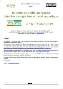 Bulletin 37 : Veille du 01/01/2019 au 28/02/2019