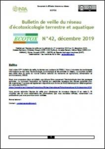 Bulletin 42 : Veille du 01/11/2019 au 31/12/2019