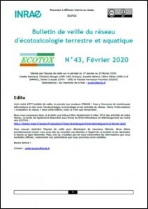 Bulletin 43 : Veille du 01/01/2020 au 29/02/2020