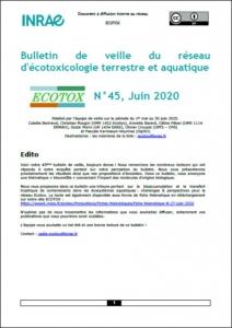 Bulletin 45 : Veille du 01/05/2020 au 30/06/2020